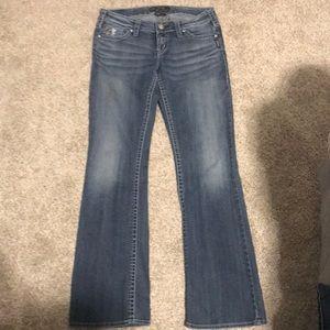 Women's silver jeans (Pioneer Style)